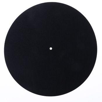 2018 nowy filc gramofon talerz mata LP mata antypoślizgowa Audiophile 3mm grubości dla winylowa płyta długogrająca rekord