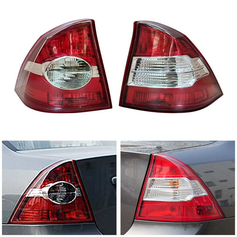 Fast Shipping Rear Tail Light Lamp For Ford Focus Sedan 2005 2006 2007 2008 2009 2010 2011 2012 2013 Car Styling Accessories car auto accessories rear trunk trim tail door trim for subaru xv 2009 2010 2011 2012 2013 2014 abs chrome 1pc per set