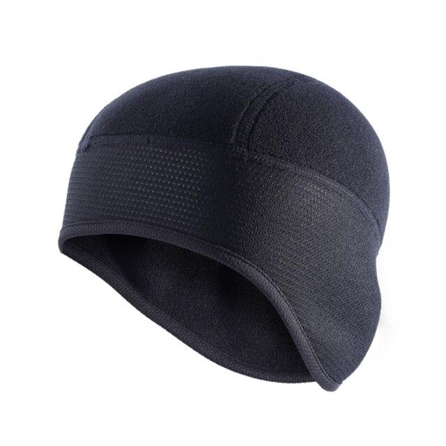 Men Outdoor Fleece Running Hats Winter Warm Windproof Ski Caps Sports  Snowboarding Hiking Cycling Cap Ear bb15cf7f4f4