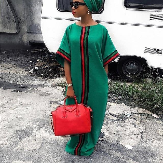f83e091e17 Baixo custo XXL Vestido Tendência 2019 Dashiki Africano Vestidos de ...