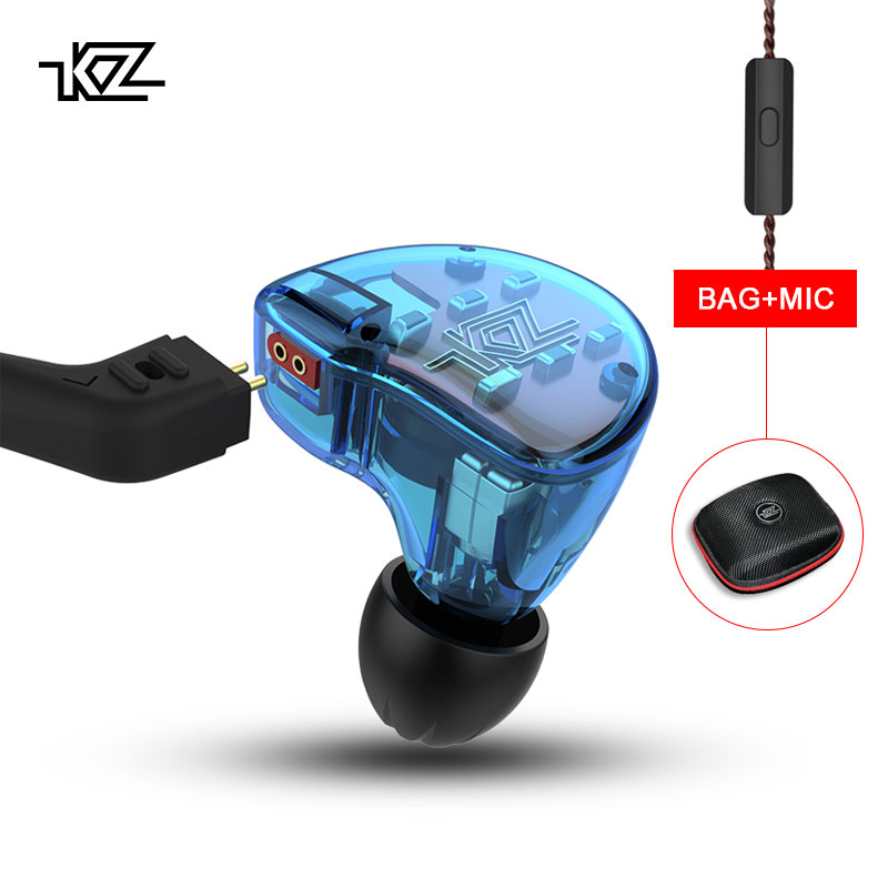 KZ ZS10 Headphones 10 Driver In Earphone 4BA+1Dynamic Armature Earbuds HiFi Bass Headset Noise Cancelling In Ear Monitors hybrid все цены