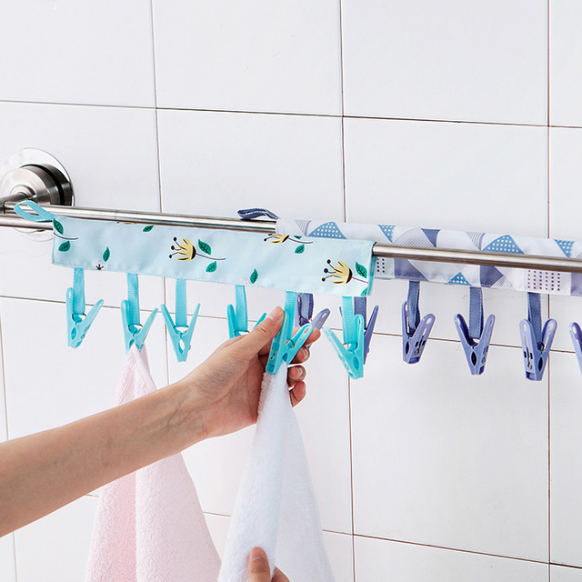 Hanging Clothes Dryer Airer Rail Towel Rack Drying Rack Hanger