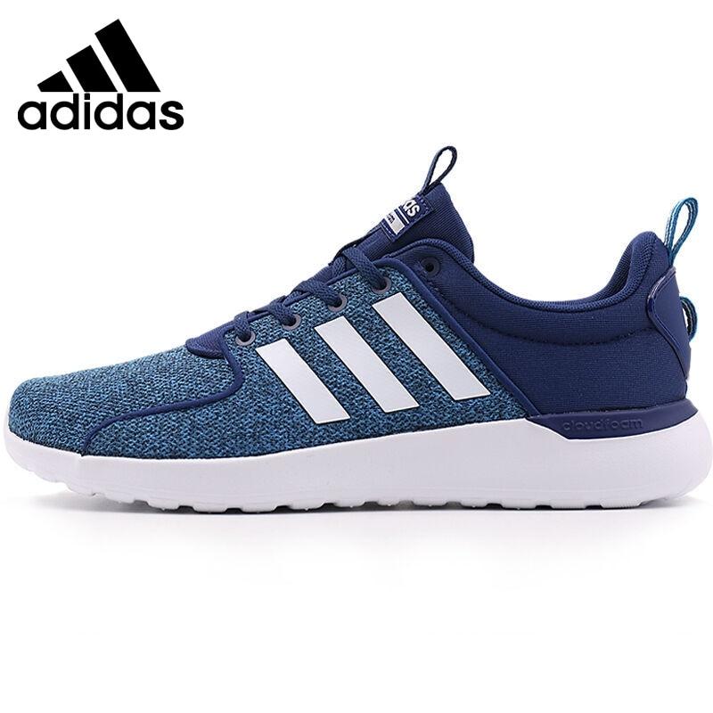 где купить Original New Arrival 2017 Adidas Adidas NEO Label LITE RACER Men's Skateboarding Shoes Sneakers по лучшей цене