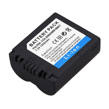 1Pcs 1500mAH CGA-S006E Digital Camera Battery For Panasonic DMC-FZ7 FZ8 FZ18 FZ35 FZ28 FZ38 FZ30 Camera Battery