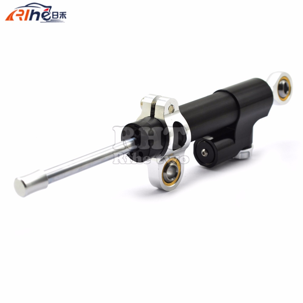 Universal New CNC Aluminum Motorcycle Steering Damper Stabilizer Adjustable For Yamaha XT1200Z XSR 700 XSR700 XJR1300 XJR 1300 universal new cnc aluminum motorcycle steering damper stabilizer adjustable for yamaha xsr 700 xsr700 xsr 700 xv950cr yzf r3 yzf