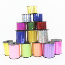 6pcs/lot Balloons Ribbon 5mm*10m Multicolor Curling Tapes for birthday Party Wedding decoration party supplies