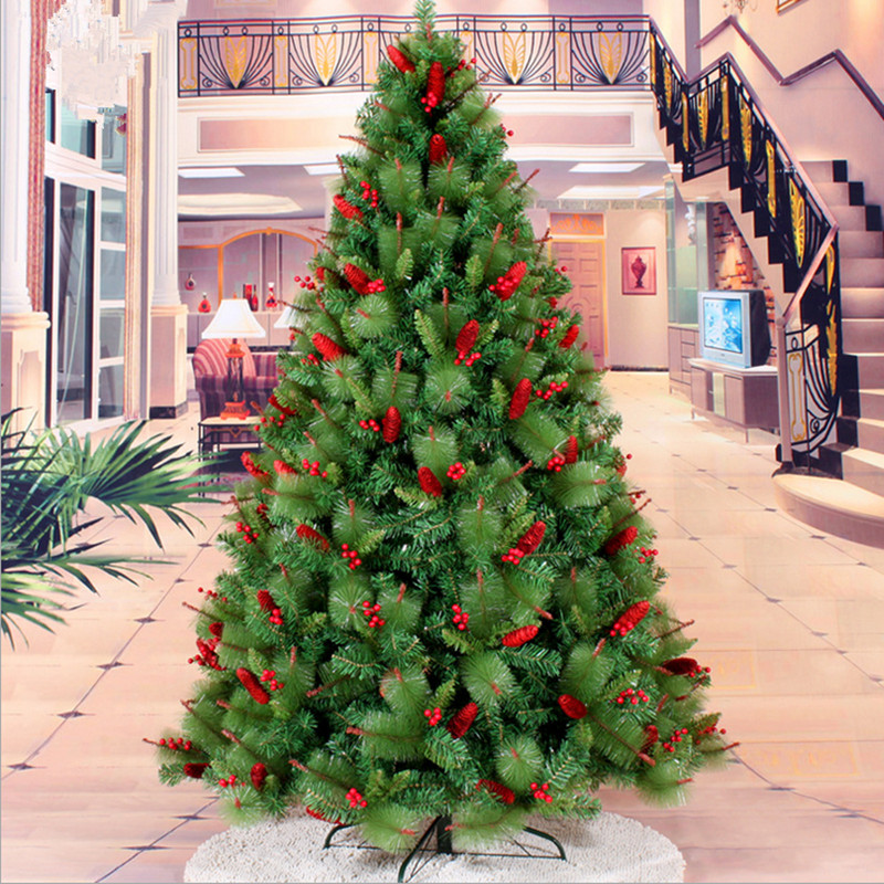 Red Red Pine Christmas Tree: Aliexpress.com : Buy New Year Christmas 2.1M / 2.4M Red