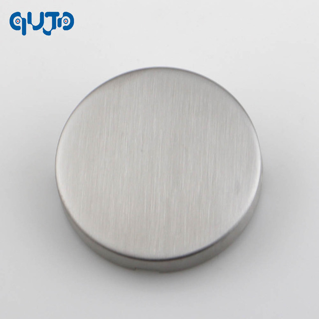 1pieces Stainless Steel 304 Blank Escutcheon Door hole Cover Satin & 1pieces Stainless Steel 304 Blank Escutcheon Door hole Cover Satin ...
