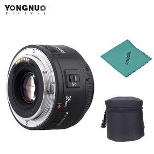 Image 1 - 永諾YN35mm F2.0 レンズ広角固定/首相自動キヤノン 600d 60d 5DII 5D 500D 400D 650D 600D 450Dカメラレンズ