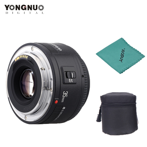 Image 1 - Yongnuo YN35mm F2.0 عدسة واسعة زاوية ثابتة/رئيس السيارات التركيز عدسات لكاميرات كانون 600d 60d 5DII 5D 500D 400D 650D 600D 450D كاميرا عدسة