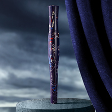 Montagut colorido celulóide caneta fonte 2019 nova forma vara original bolso mini irídio fino nib 0.5mm moda escrita presente caneta