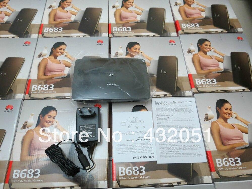 Huawei B683 UMTS HSPA + 28.8mbit / s უსადენო 3G - ქსელის აპარატურა - ფოტო 2