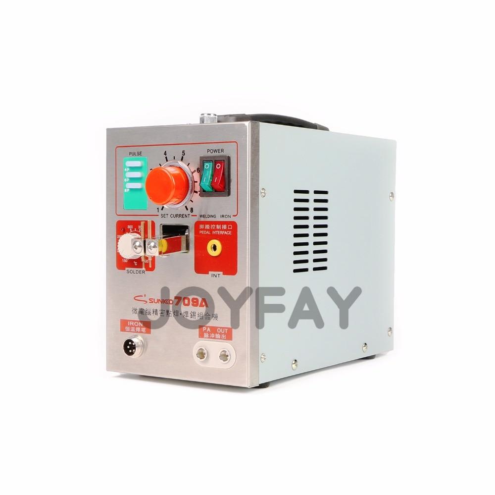 SUNKKO 709A akkumulátoros ponthegesztő impulzushegesztő eszköz - Hegesztő felszerelések - Fénykép 4