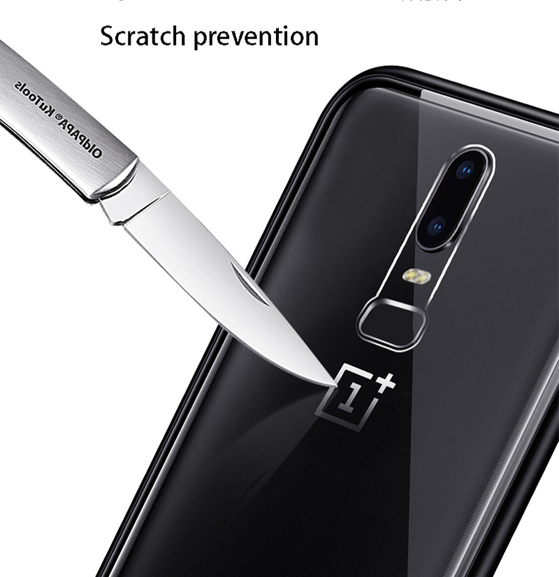 Image 4 - Magnetic Adsorption Phone Case For OnePlus 7 Pro One Plus 6T Tempered Glass Back Cover For Oneplus 6 5T Luxury Metal Clear Case-in Flip Cases from Cellphones & Telecommunications
