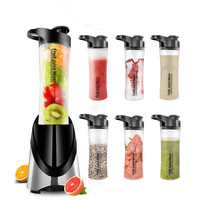 LSTACHi Electric Juicer Food Mixer Automatic Fruit Vegetable Citrus Juice Extractor Smoothies Maker Pocket Sports Bottle Blender