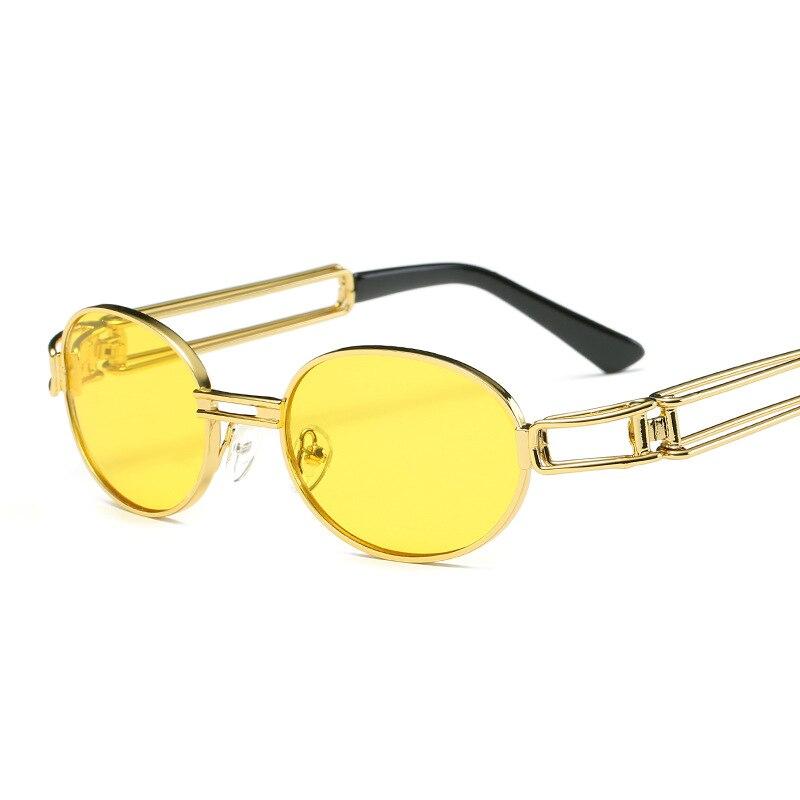 Steampunk Goggles Men Carter Sunglasses Retro Brand Designer Women Sun Glasses Lunette Transparent Oculos Female Eyewear Male
