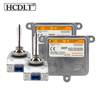 HCDLT 35W 55W 5500K D8S Car Light Xenon HID Kit 12V Xenon Ballast Replacement Kit HID D8S Xenon Lamp Bulb For Auto Headlights