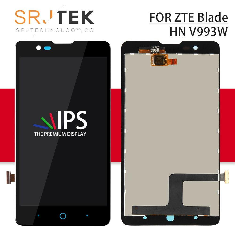 Aufrichtig Srjtek Bildschirm Für Zte Klinge Hn V993w L3 Plus Lcd + Touch Digitizer Sensor Glas Montage 5,0 Zoll 1280*720 Für L3 Plus Display