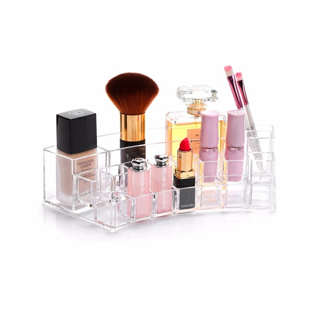 M Acrylic Lipsticks Organizer Clear Makeup Organizer Transparent Cosmetic  Containers Lipsticks Storage Cosmetics Box C29