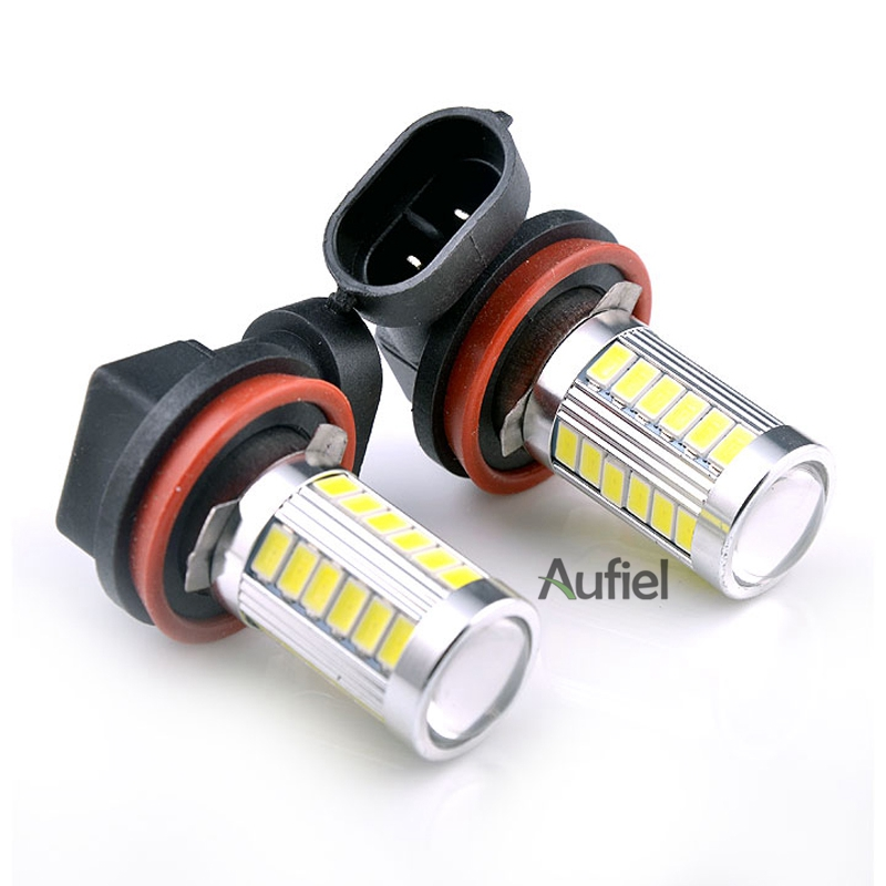 2x h11 h8 33smd 5630 super white 6000k auto car drl day running fog light backup lamp bright for. Black Bedroom Furniture Sets. Home Design Ideas