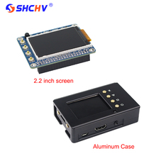 Sale Raspberry Pi 3 2.2 inch TFT Screen LCD Display + Black Aluminum Enclosure Case Box also for Raspberry Pi 2 Model B Free Shipping