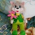 Русский язык говоря цветок кошки куклы, электронные игрушки для девочки, Интеллектуальная игрушка Рождественский подарок для детей детское детей