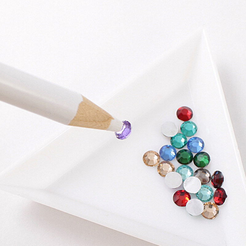 Nagel Bohrer Punkt Stift Nagel Zubehör Klebrig Bohrer Stift Telefon Schönheit Aufkleber Gebohrt Bohrer Qualität Weiß Refill Bleistift Hochwertige Materialien