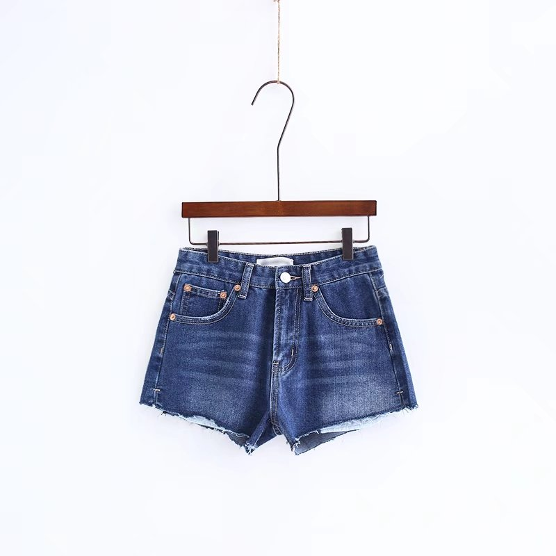 2018 Summer Women Highwaisted Mini Jeans Shorts Vintage Ripped Hole Mini Short Sexy Denim Feminino Slim Sexy Casual Shorts Jeans