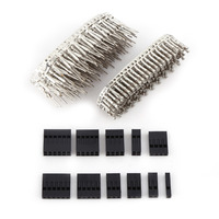 620pcs 2 54mm Dupont Wire Cable Jumper Pin Header Connector Housing Kit Electronics Set Male Female