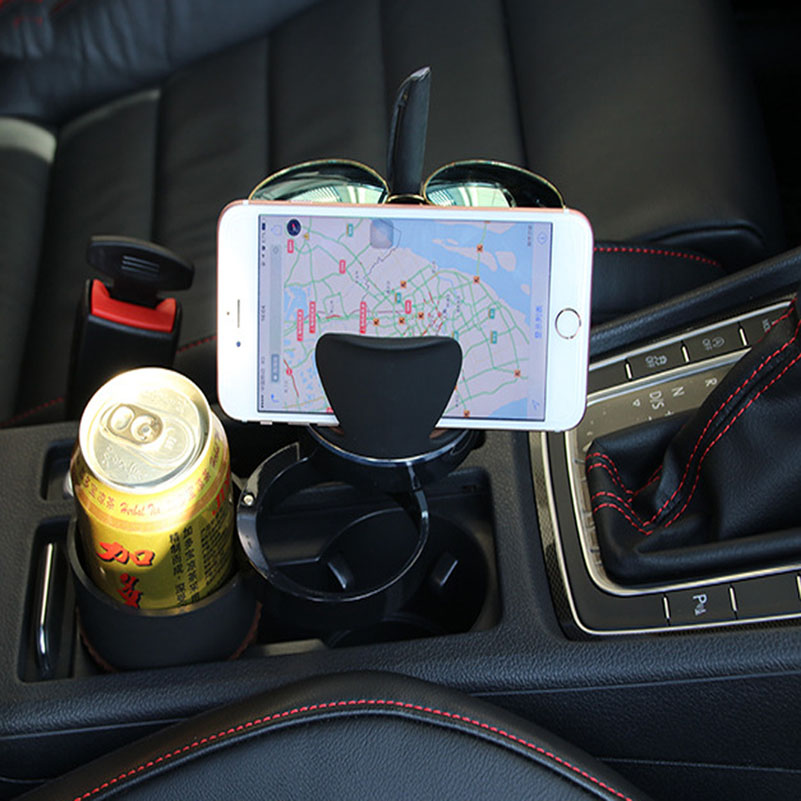 Multifunction Car Drink Holder Cell Phone Cup Hoder Rotatable ...