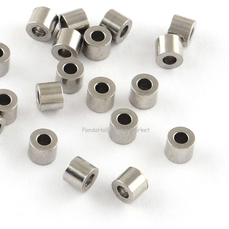 Stainless steel column bead spacers
