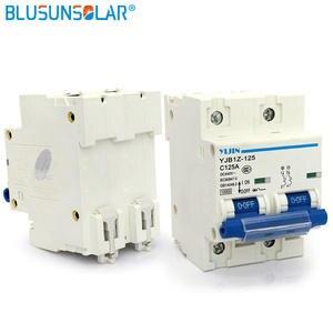 Schneider DC440V 50 Pieces Lot 2 P 125A Mini Miniature Circuit Breaker For Solar