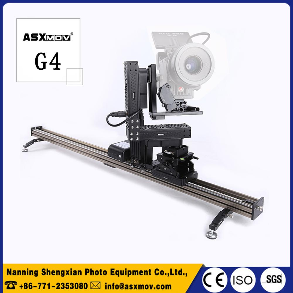 цены  ASXMOV 4 axis stop motion studio camera panorama slider with  timelapse controller and motor for dslr panoramic camera