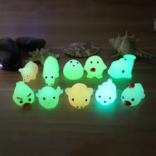 CCZQ Squishy Toy Colossal Cute Luminous Mochi Squishy Cat squishy set squishy toys slow rising squish antistress toy JL 27(China)
