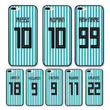 European Football Argentina National Team Jersey style Messi Roman Custom Names and Numbers case for iPhone 8 plus Phones cases