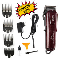 100 240V Kemei Professional Hair Clipper Beard Electric Razor Electric Hair Trimmer Powerful Hair Shaving Machine