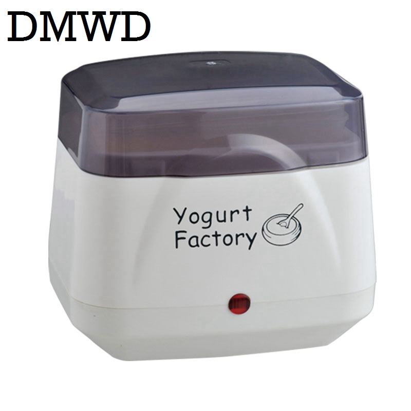 DMWD Full Automatic Electric Yogurt Maker household yoghurt fermenting machine Leben fermenter container 110V-220V dual voltage amelia jeanroy fermenting for dummies