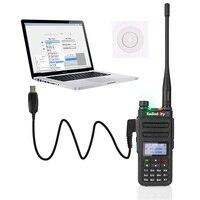 מכשיר הקשר שני הדרך Radioddity GD-77 Dual Band Dual זמן חריץ DMR דיגיטלי / אנלוגי שני הדרך רדיו 136-174 / 400-470MHz Ham מכשיר הקשר עם רמקול (3)