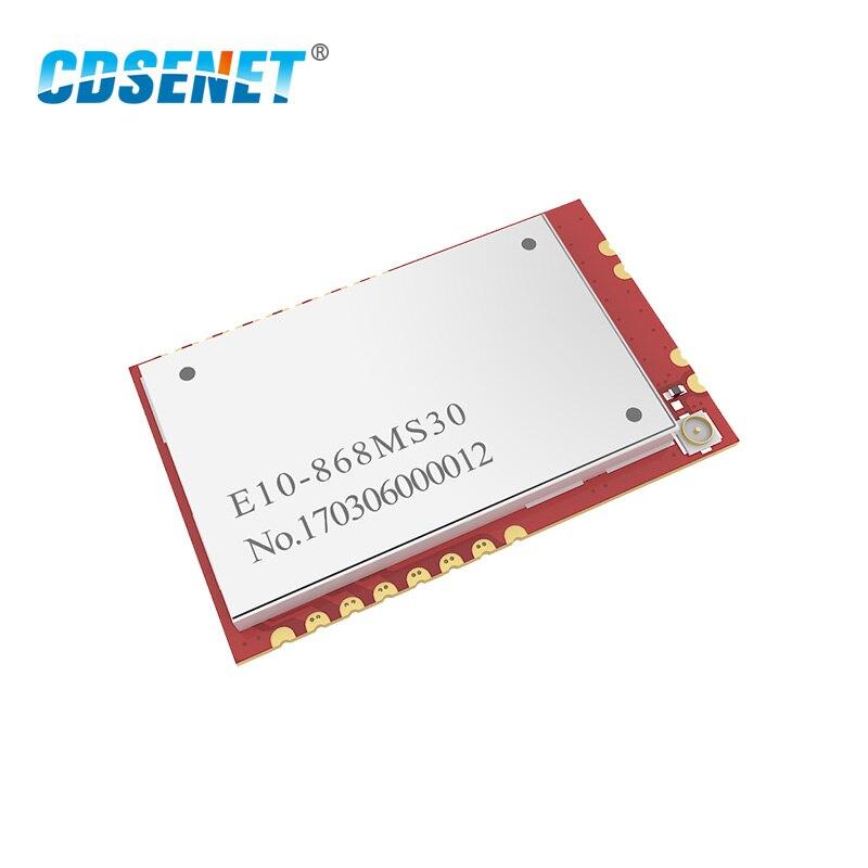 Беспроводной радиочастотный модуль SI4463 SPI 868 МГц, приемопередатчик CDSENET E10-868MS30 SMD 6000 м 1 Вт, радиочастотный передатчик и приемник 868 МГц