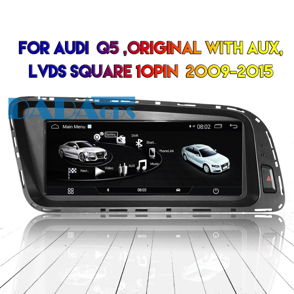 Android Car DVD Player Radio GPS Headunit For Audi Q5