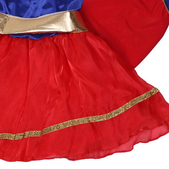 Halloween Party Supergirl Dress