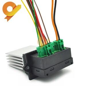 27150-ED70A 7701207718 6441L2 Heater Fan Control Module Resistor or plug For Peugeot 1007 207 607 1.4 1.6 2.0 HDI 16V 3.0 V6(China)