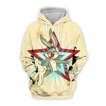Men Cartoon Bugs Bunny pentagram printing 3d hoodies Sweatshirt print unisex casual Pullover autumn jacket with zipper plus size men cartoon bugs bunny 3d hoodies galaxy sweatshirt usa flag print unisex casual pullover autumn jacket tracksuit plus size