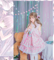 2018 new Lolita dress Cosplay cute retro style Lolita fashion cute dress