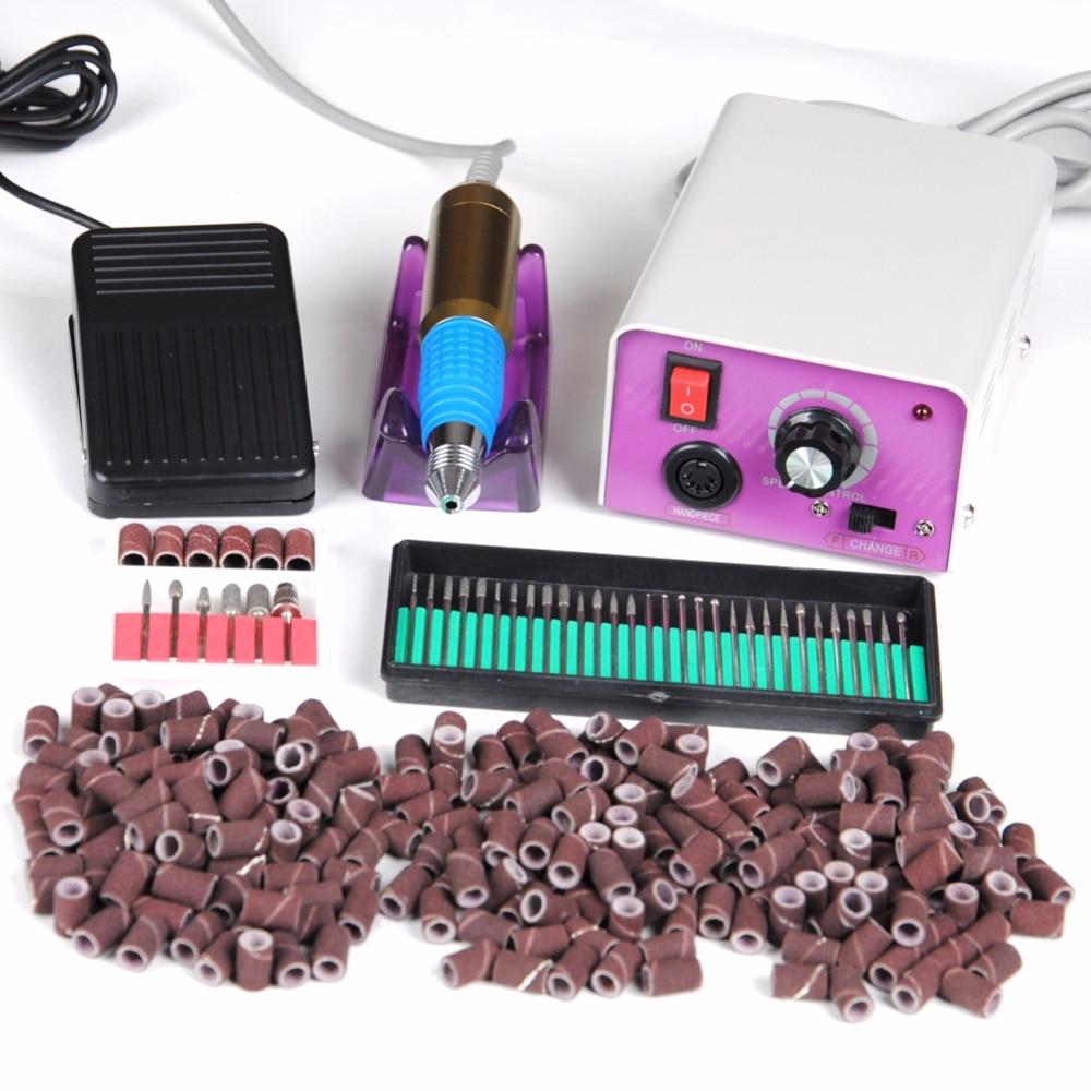 Pro perceuse électrique clous pour manucure Machine vernis à ongles enlever foret pièce à main mèches manucure conseils équipement Salon outils Kit