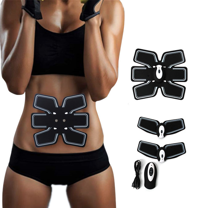 EMS Rechargeable Electric Abdominal Exercise Training Hous Abdominal Arm Muscles Intensive Training Loss Slimming Massager 30 smart abs fit training multi function ems abdominal exercise hous abdominal muscles intensive training loss slimming massager