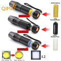 Waterproof RU USA E17 CREE XM-L2 4000Lumens cree led Torch Zoomable cree LED Flashlight Torch light 3xAAA or 1x18650 or 26650
