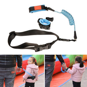 Traction-Rope-Belt Safety-Harness Lock-M09 Toddler Anti-Lost Baby Kids Leash with Wrist-Link