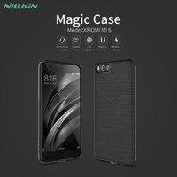 Nillkin Magic Case For Xiaomi M6 Wireless Charging Phone Case Non Slip Anti Fingerprint Silicone Soft