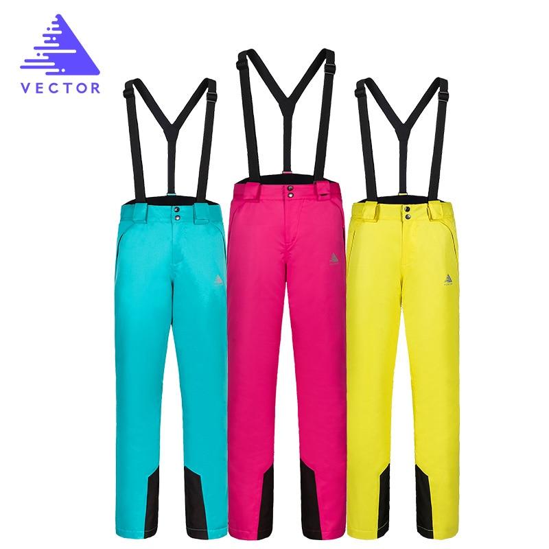 VECTOR Women Skiing Pants Waterproof Snow Trousers Outdoor Winter Sports Warm Snowboard Pants Female Winter Ski Pants HXF70016 in Skiing Pants from Sports Entertainment